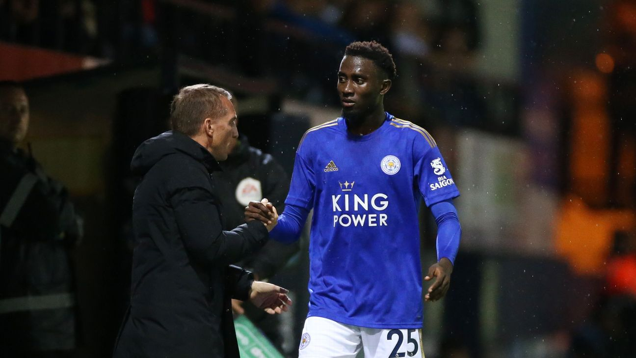 Wilfred Ndidi has given all credit for his, and Leicester City's, performance this season to manager Brendan Rodgers.