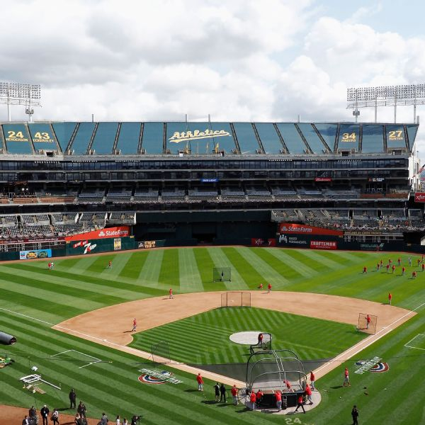 MLB wants A's to explore relocating from Oakland