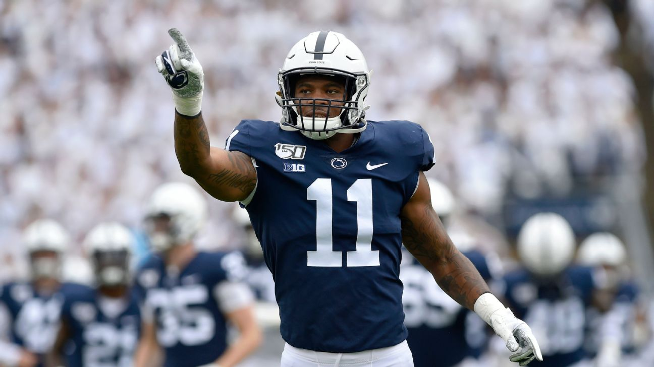 Penn State football's Micah Parsons opts out to prep for NFL draft