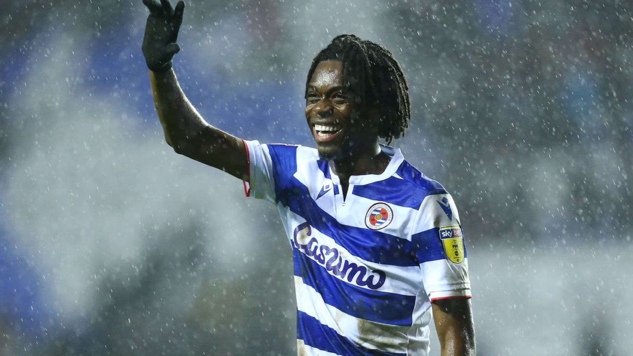 Ovie Ejaria is currently on loan from Liverpool to Reading, having joined the Reds from Arsenal in 2014.