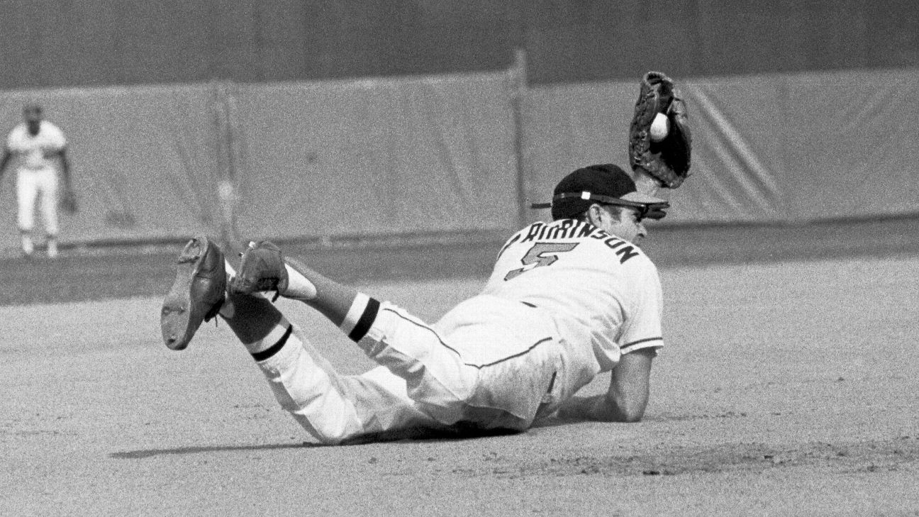 Tim Kurkjian's Baseball Fix - How Brooks Robinson earned the nickname  'Human Vacuum Cleaner'