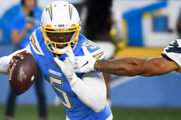 Chargers QB Taylor: 'Attack' remains like starter's