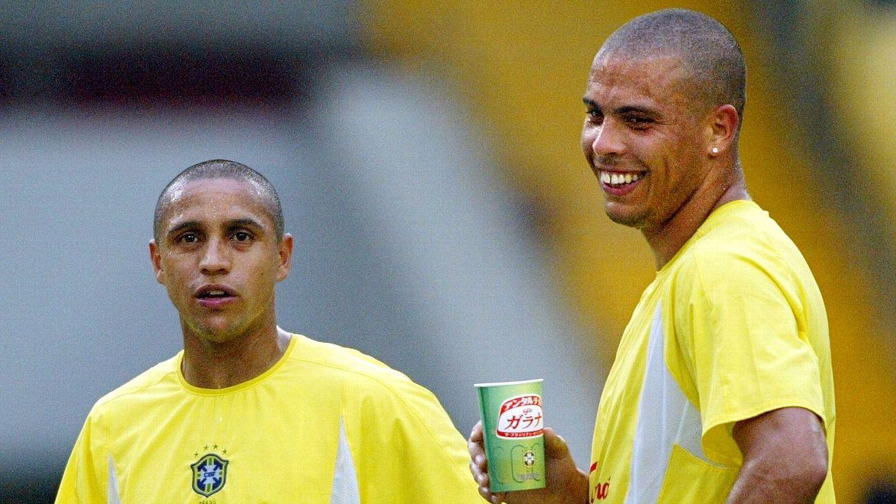 Ronaldo and Roberto Carlos
