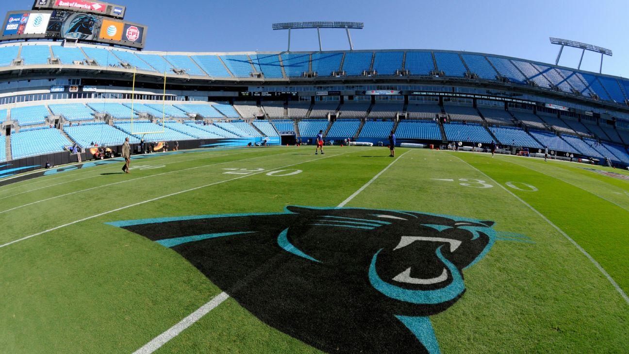 Bank of America Stadium transitioning to artificial turf before Carolina  Panthers' 2021 season