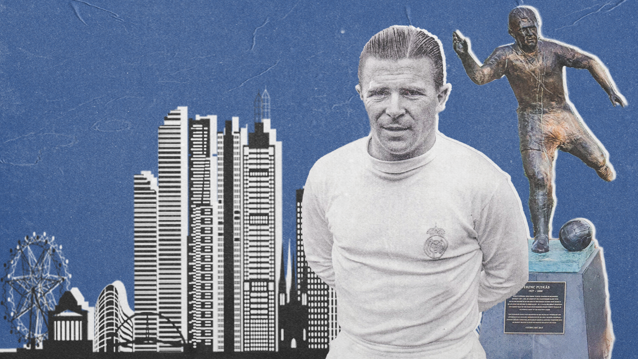Ferenc Puskas in Melbourne