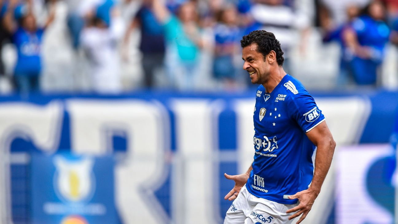 Former Brazil striker has left Cruzeiro to rejoin Fluminense and will bike to his new club for charity.