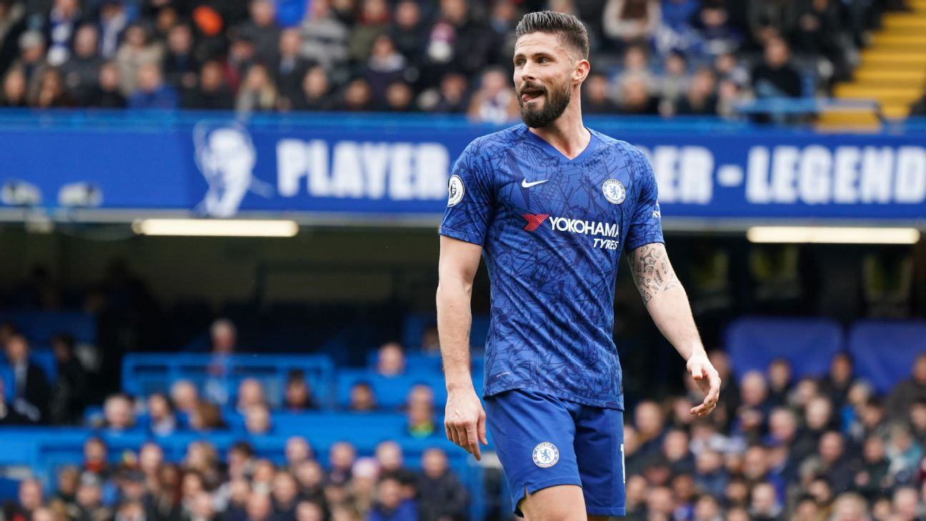 Chelsea's Giroud: Coronavirus pandemic influenced my decision to stay at club