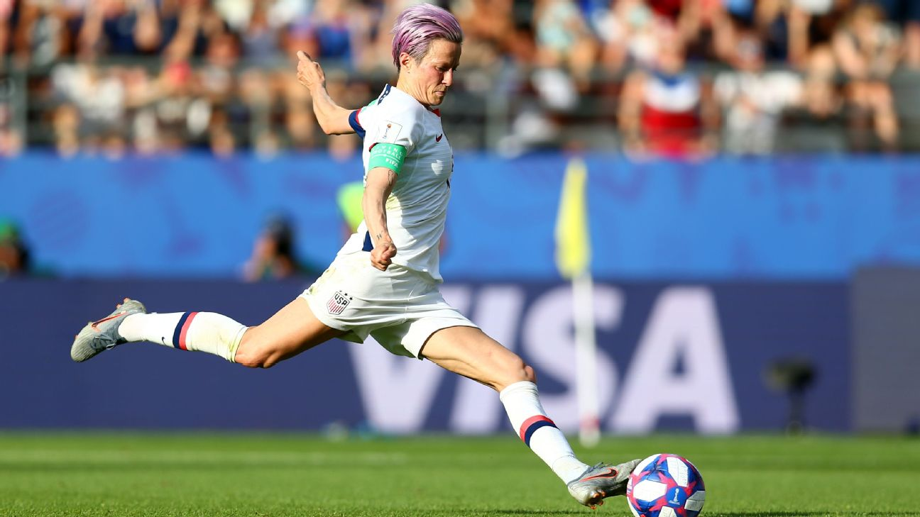 Incredible long-distance accuracy from wingers like Megan Rapinoe have given the U.S. the most consistent striking ability in the world.