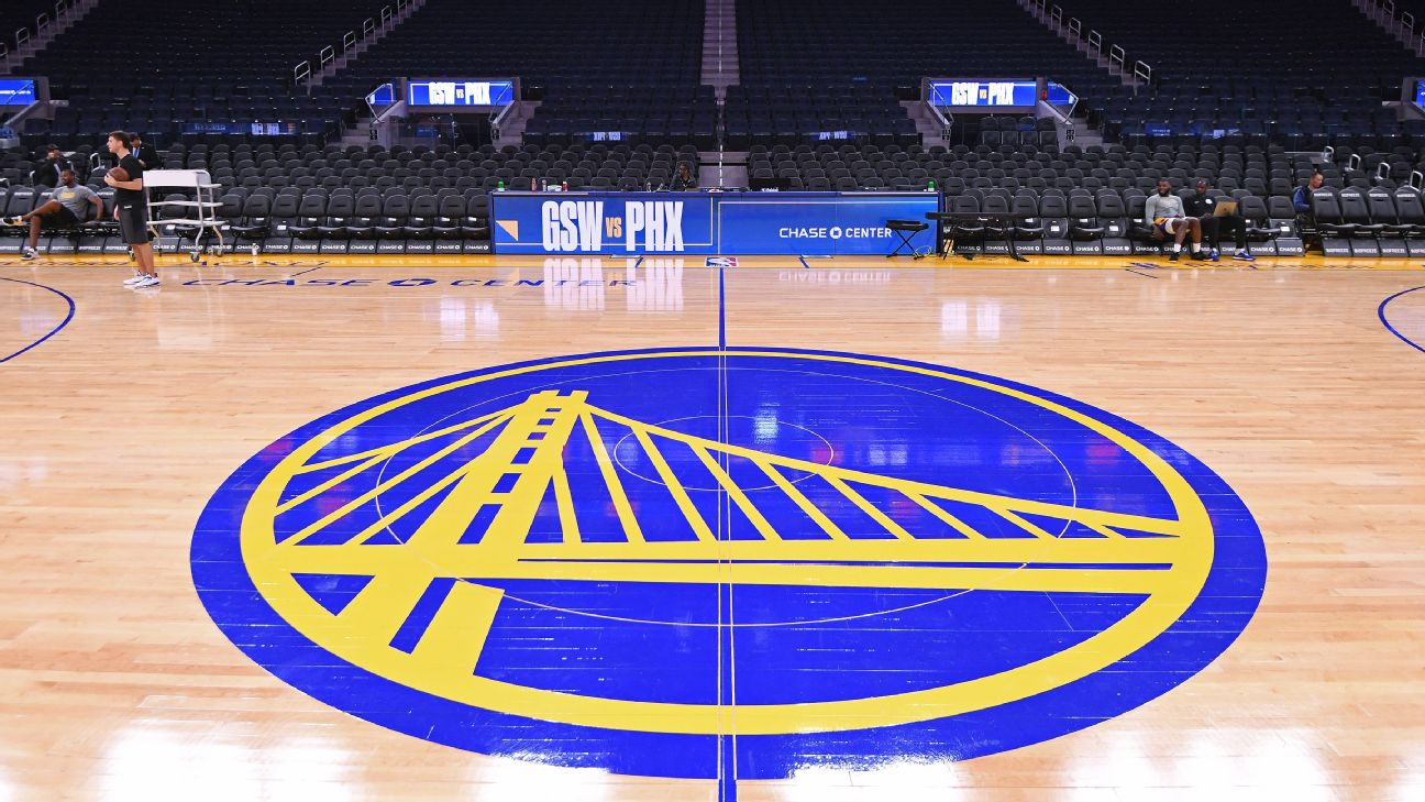 Golden State Warriors Submit Plan For Home Game Coronavirus Testing To Allow 50 Fan Capacity