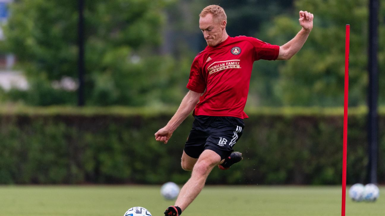 Atlanta United defender Jeff Larentowicz says players are concerned over safety in return to MLS action.