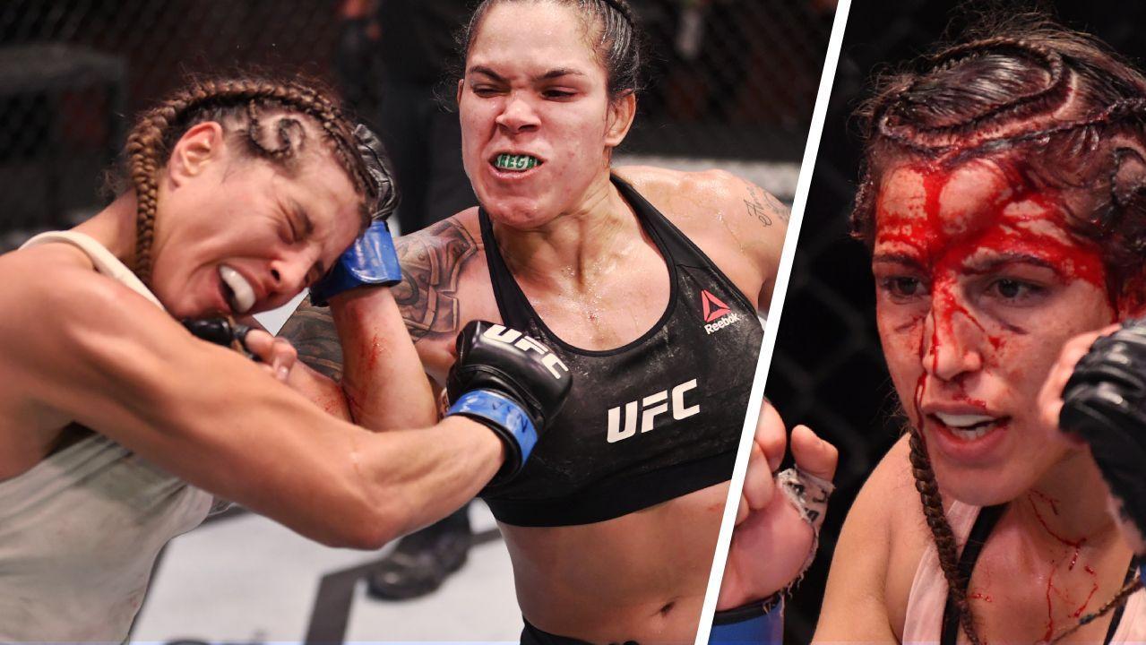 UFC 250: Amanda Nunes luta sorrindo, deixa rival deformada e se ...