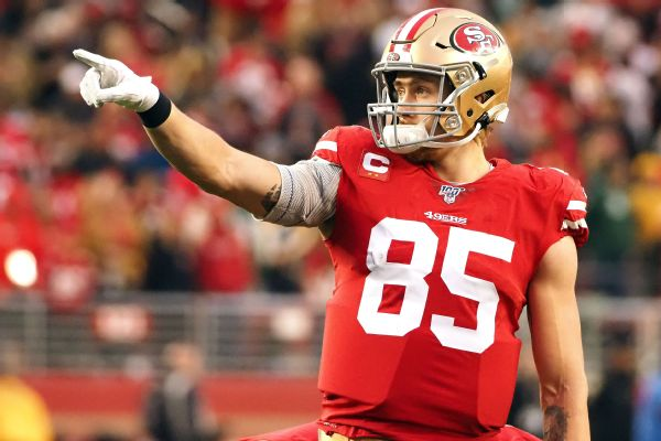 Belichick effusive in praise for 'great' TE Kittle
