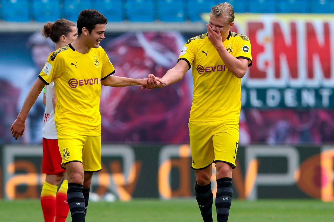Dortmund S Haaland Reyna The American Dream Has Bright Future
