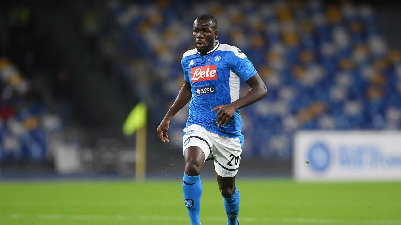 Transfer Talk: Liverpool want Napoli's Koulibaly to form elite centre-back combo