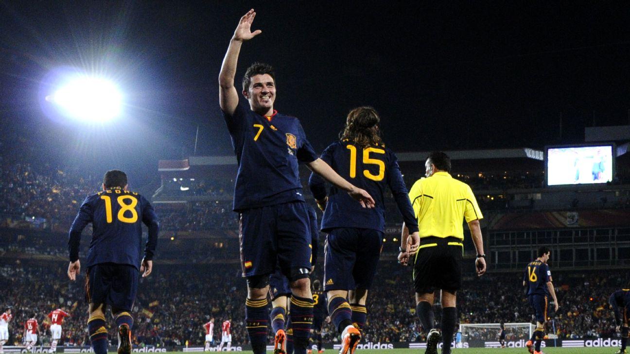 de nuevo Volver a disparar costo  Serie décimo aniversario del Mundial, Villa: Siempre soñé con una España  campeona del Mundo y conmigo en el equipo
