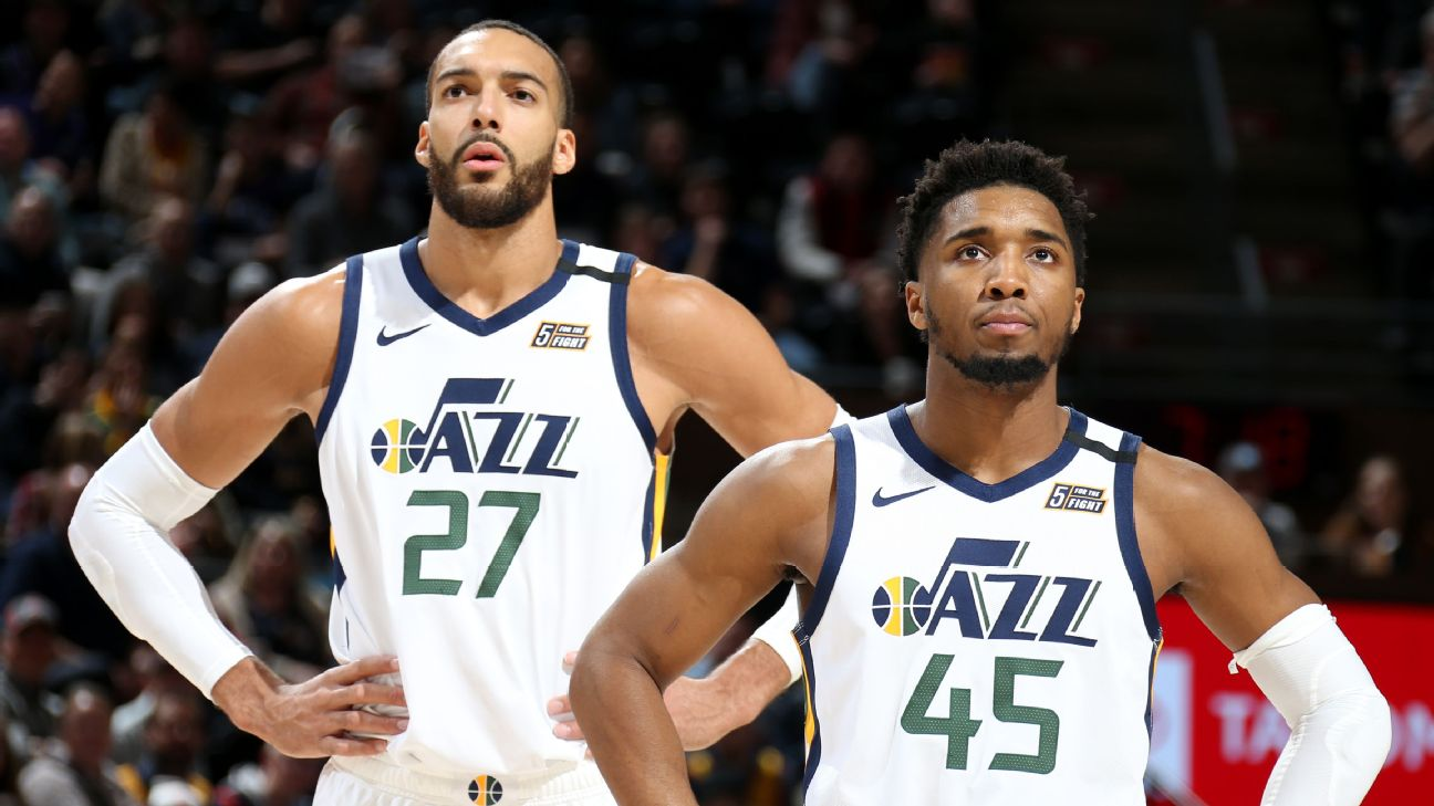 Utah Jazz star players in Rudy Gobert and Donovan Mitchell are helping push for the West