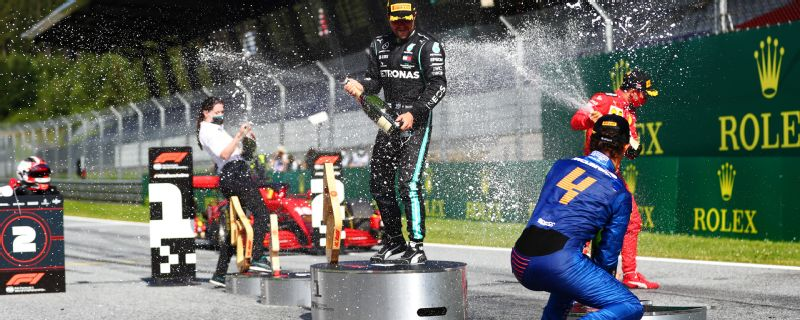 Formula One serves up an instant classic in long-awaited return to action