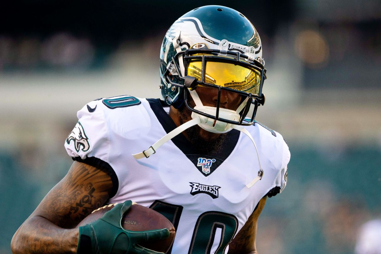 Eagles release Jackson after injury-filled seasons