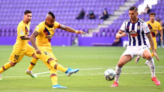 LIVE: Barcelona play catch-up against Real Valladolid
