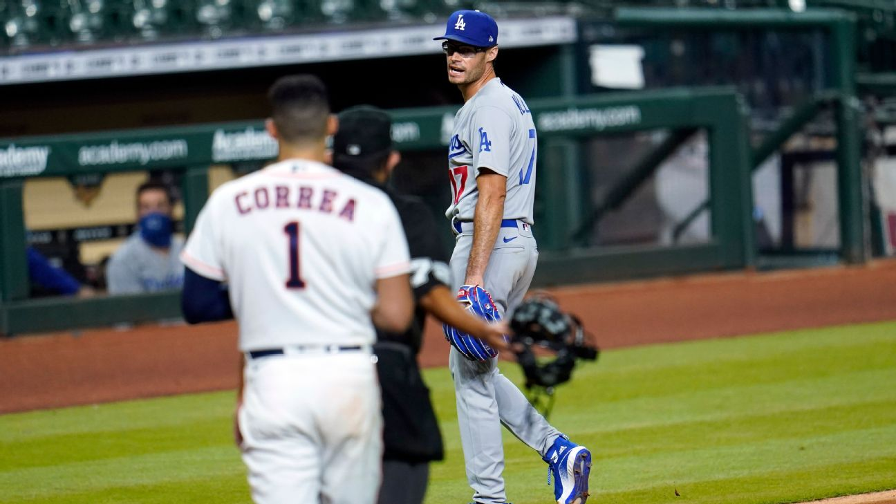 Dodgers Joe Kelly Suspended 8 Games By Mlb For Incident With Astros Abc7 Los Angeles