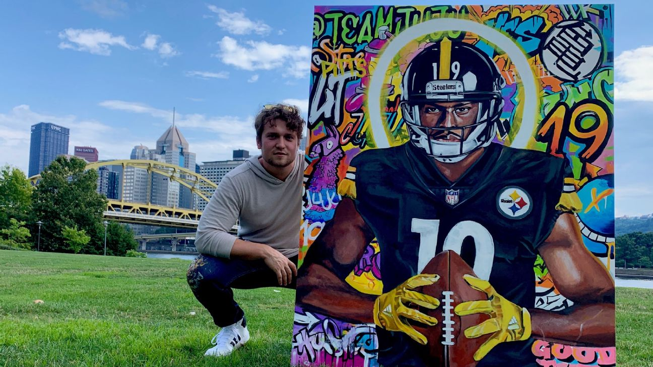 How Steelers Have Supported Their Favorite Painter During Pandemic