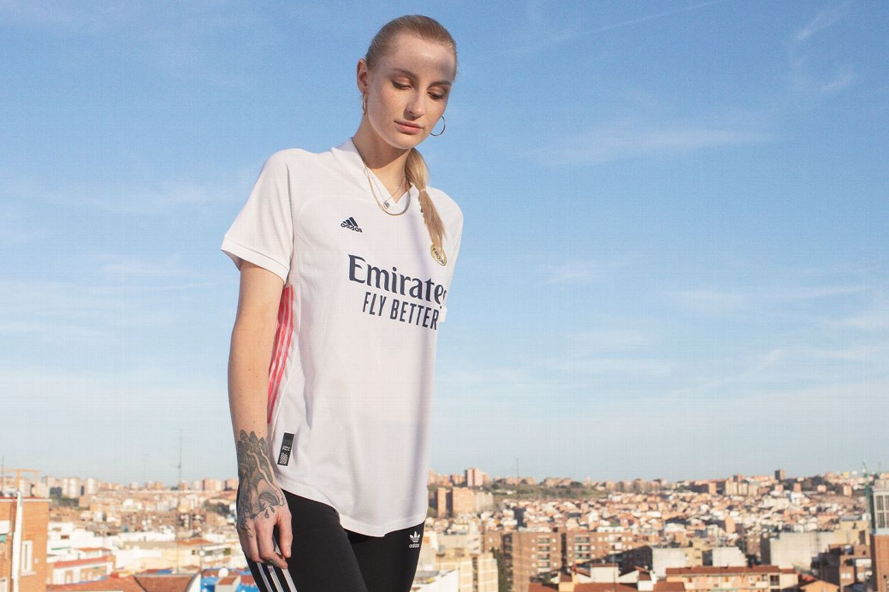 Real Madrid S New Home Away Kits For 2020 21 Put La Liga Champions In The Pink