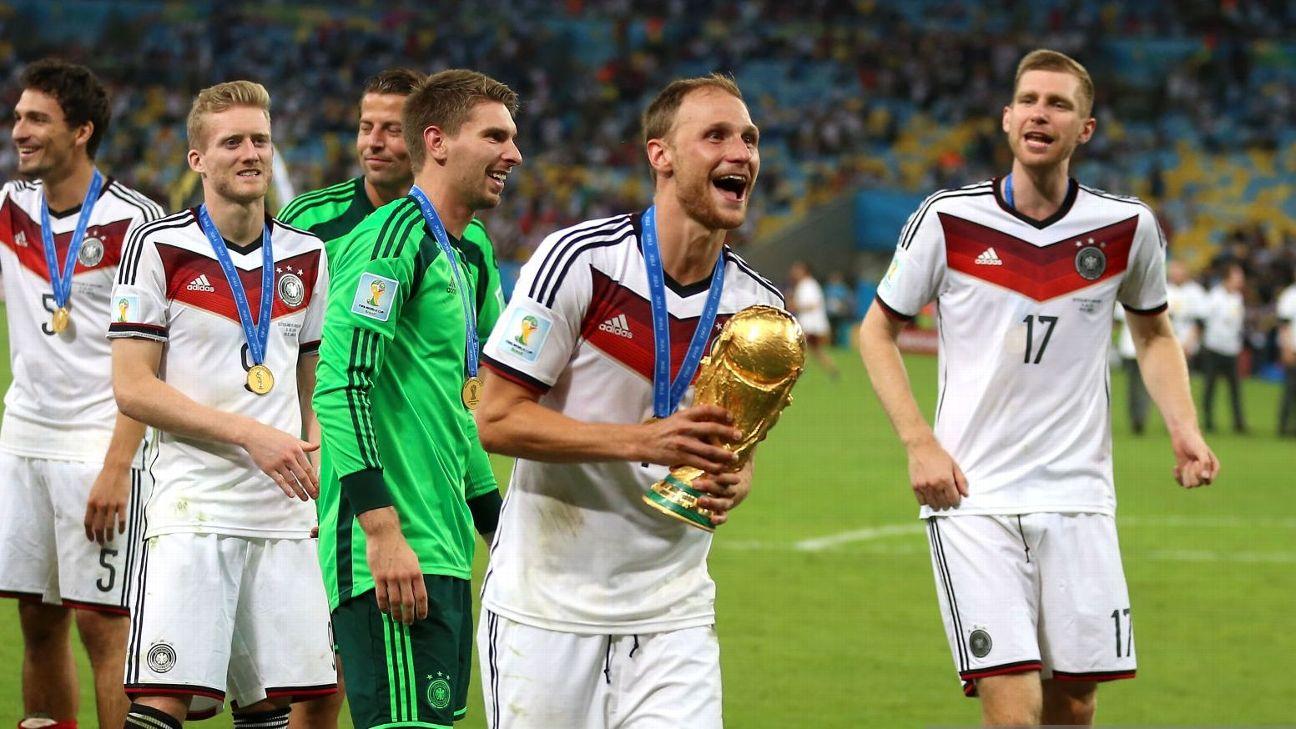 Benedikt Höwedes para aos 32 anos, e Alemanha campeã no Brasil tem ...