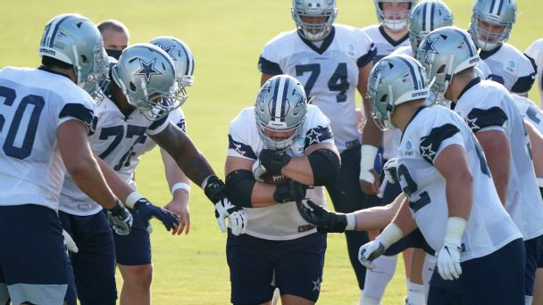Best of Friday at NFL training camps: Teams practice in pads; Cowboys, Chiefs rookies stand out