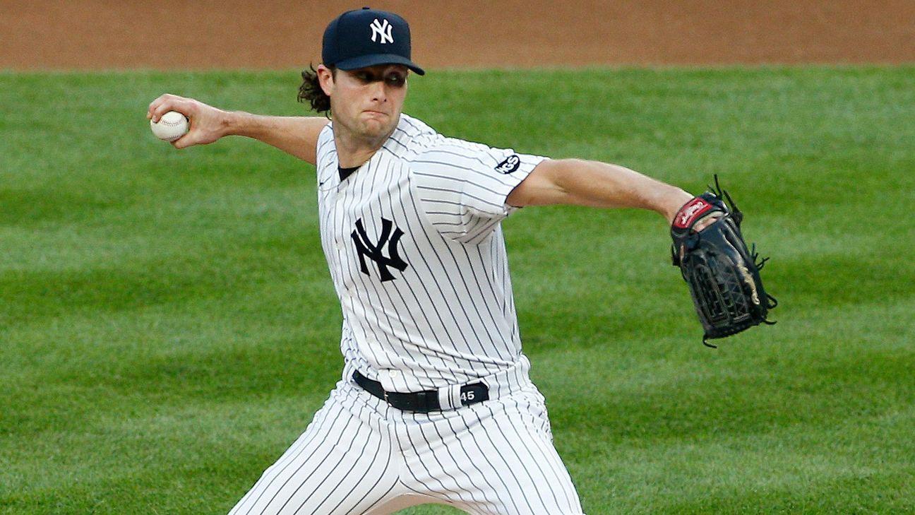 Gerrit Cole posts 20th straight regular-season win as Yankees beat Red Sox - ABC7 New York