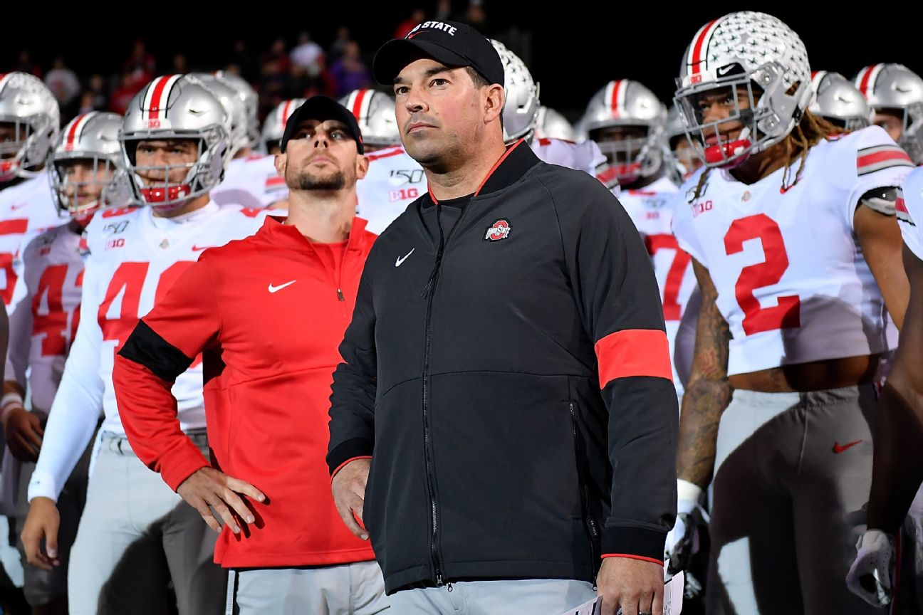 Day can't coach if Ohio State plays Saturday