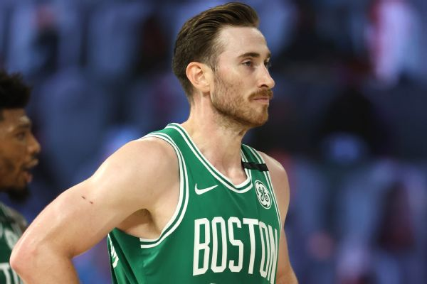 Celtics list Hayward as active vs. Heat in Game 3