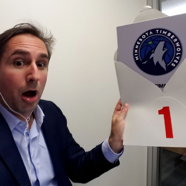Behind the scenes at the weirdest NBA draft lottery ever