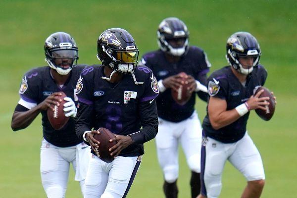 Sources: Ravens QB Jackson nursing groin injury