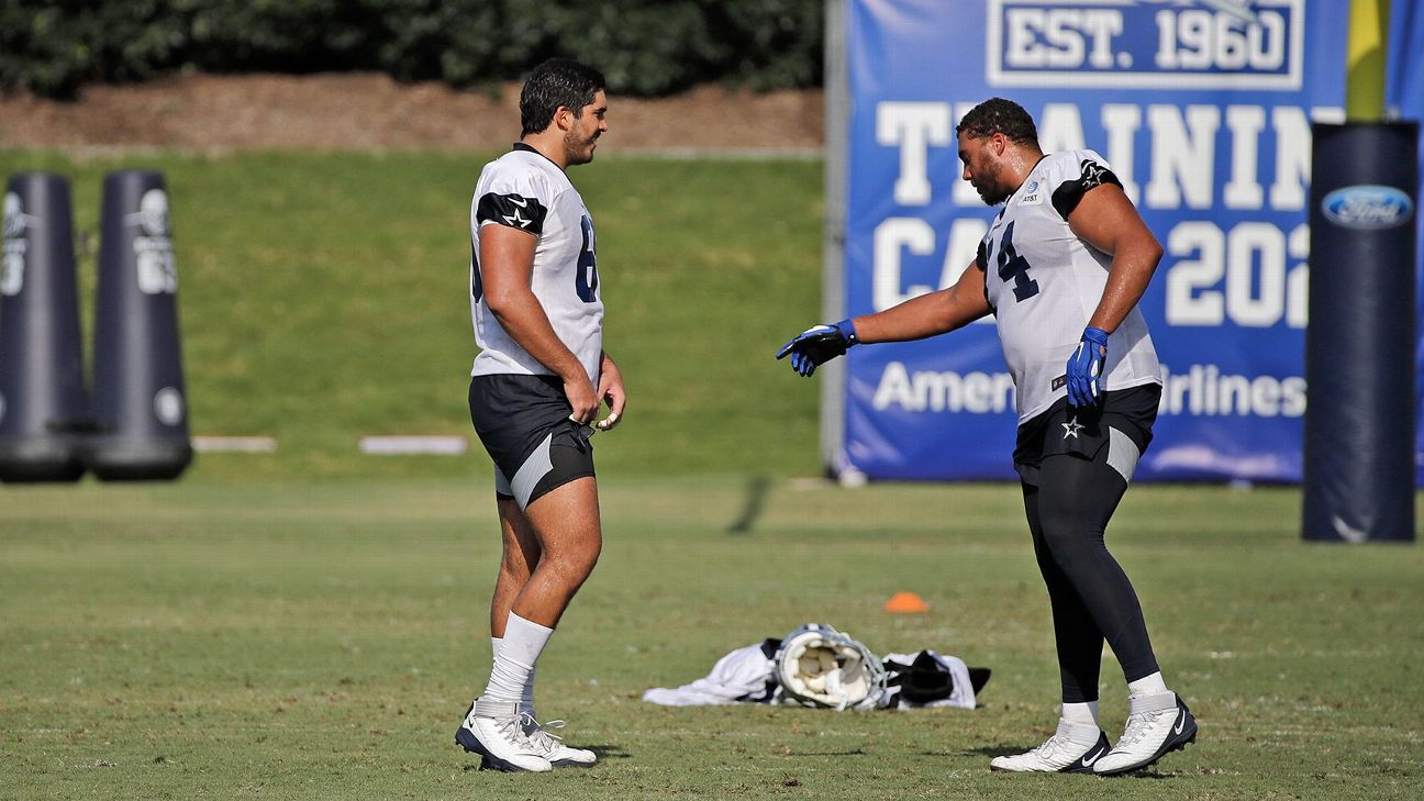 Oficial: Isaac Alarcón va a escuadra de prácticas de Cowboys como 'jugador  internacional'