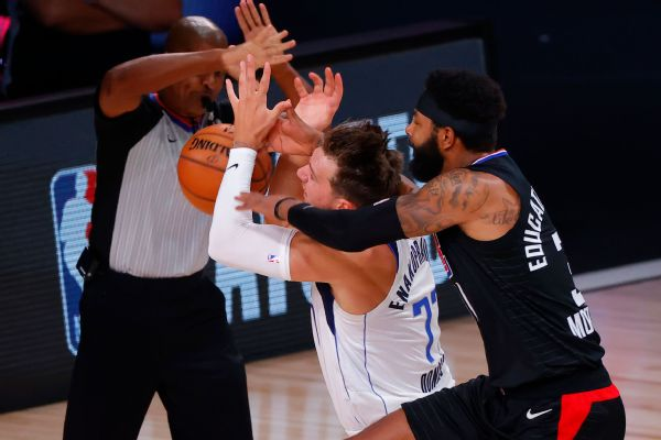 Morris' battle with Doncic ends with ejection