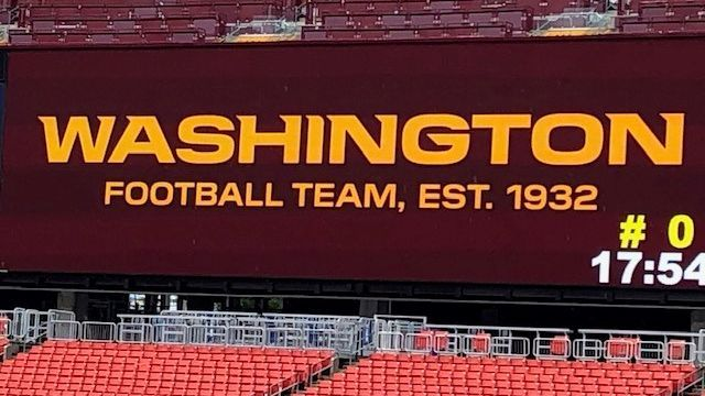 Washington Football Team Renames Roads After Joe Gibbs Sean Taylor