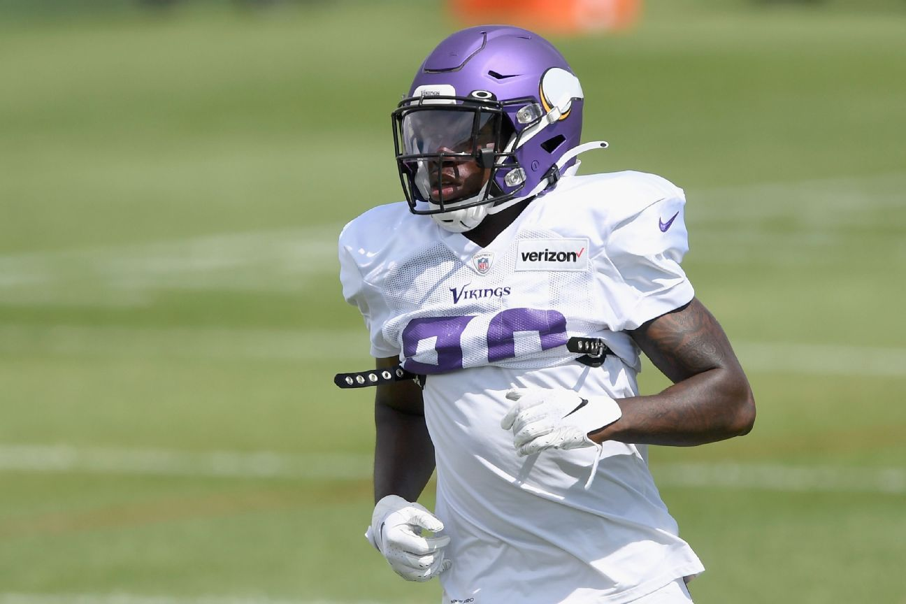 Vikings release CB Gladney after he is indicted