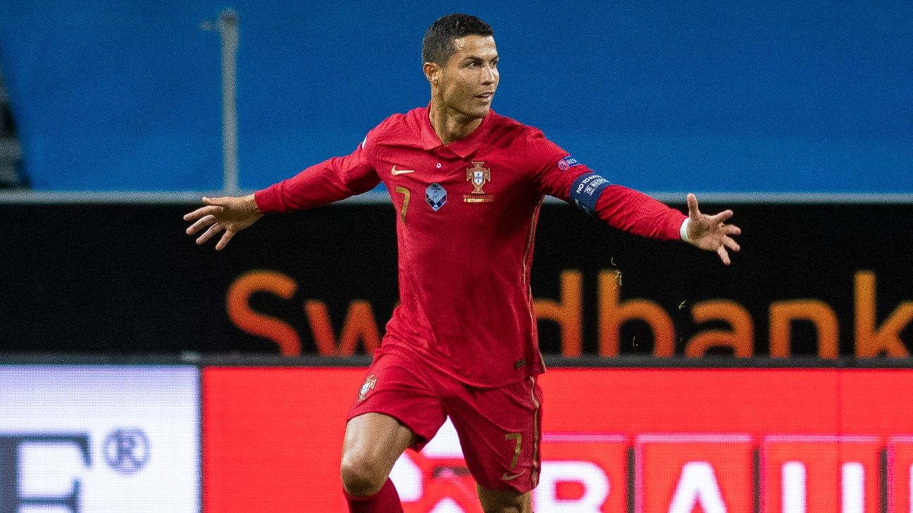 Cristiano Ronaldo S 101 With Portugal 9 Hat Tricks 24 Headers 49 After 30