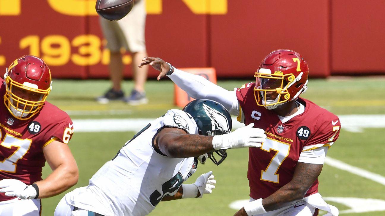 Dwayne Haskins' benching a signal his NFL future isn't in Washington -  Washington Blog- ESPN