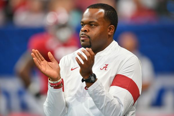 Sources: Marshall set to hire Tide's Huff as coach