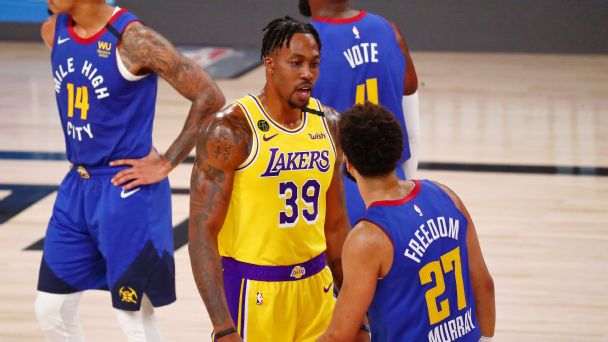 Dwight Howard makes good on his promise to the Lakers