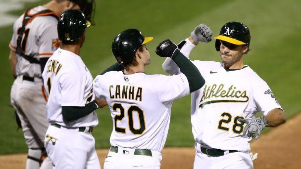 MLB playoff push: A's clinch playoff spot, plus current postseason bracket