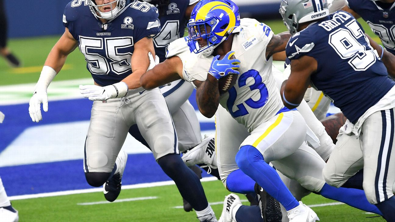 Los Angeles Rams Rookie Rb Cam Akers Ruled Out Vs Bills
