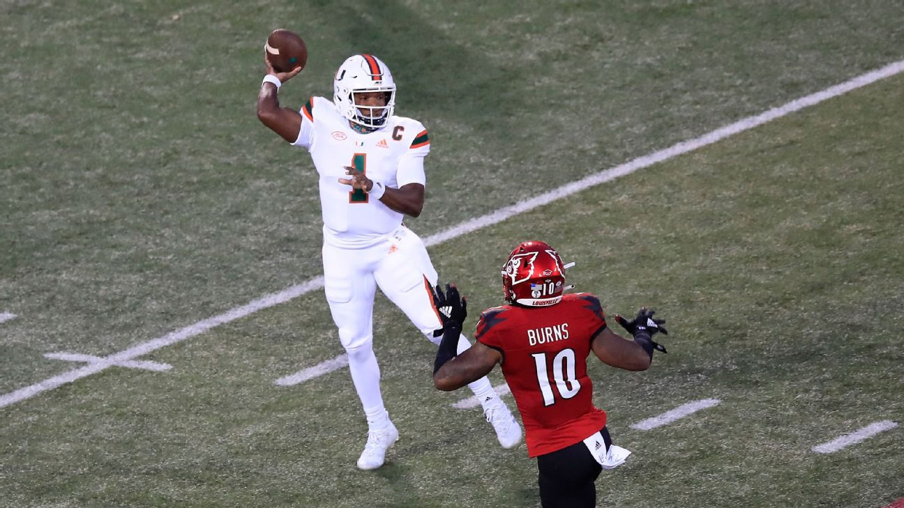 Early College Football Overreactions Miami Thriving Big 12 Struggling And Nebraska Whining