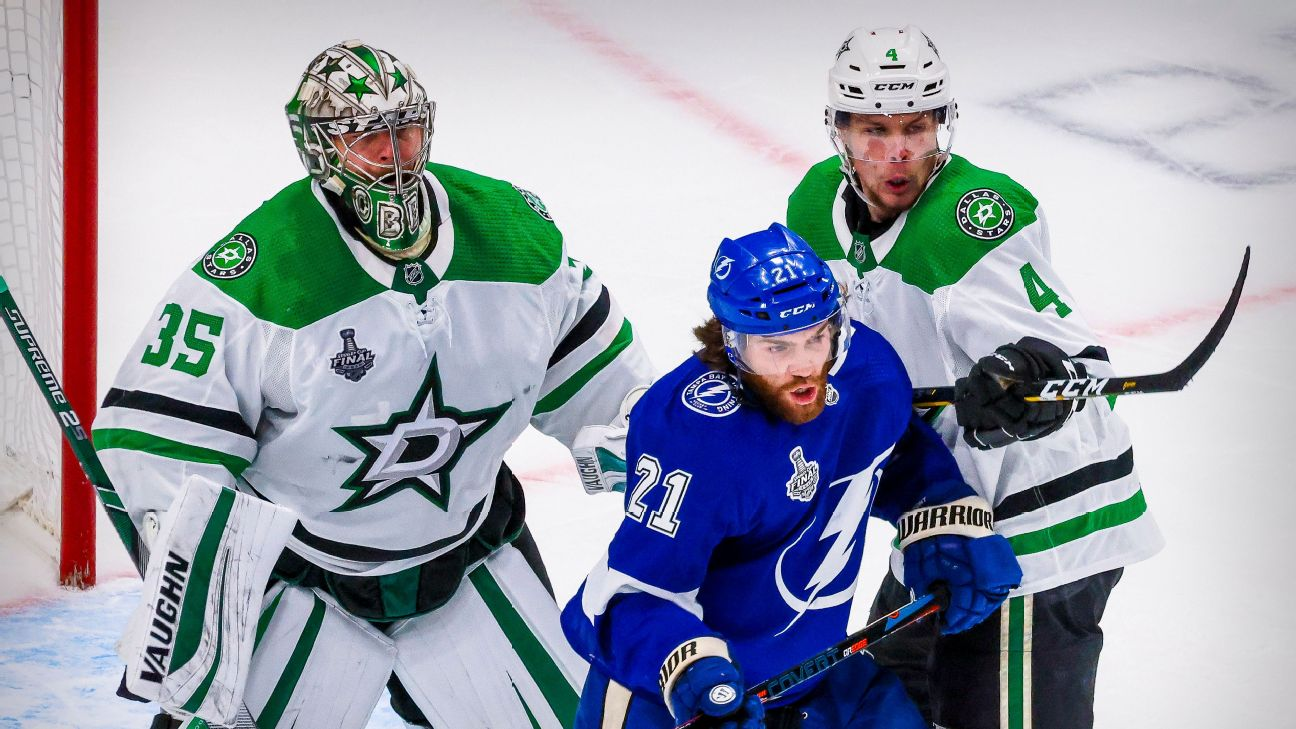 Follow live: Lightning look to build momentum in Game 3 vs. Stars