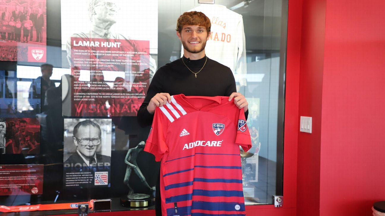 Meet Tanner Tessmann, the kid who chose FC Dallas over Clemson football