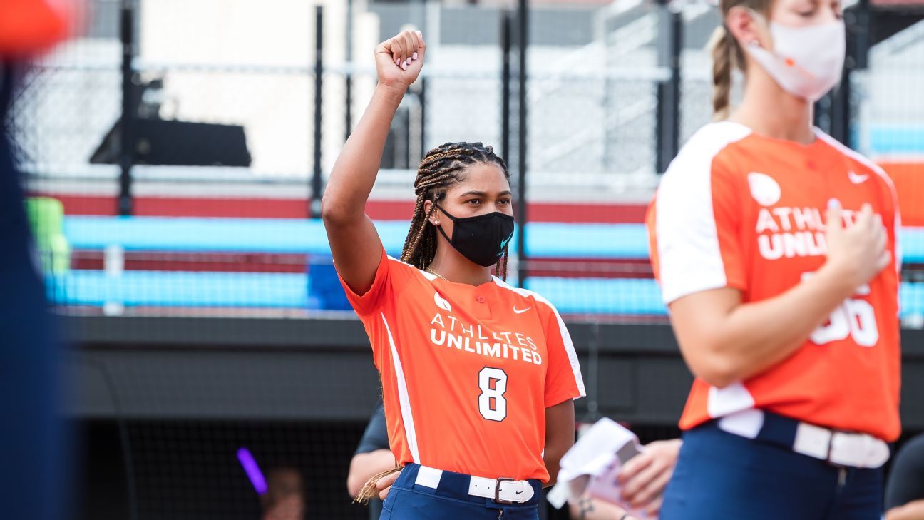 Ocasio uses Athletes Unlimited platform to make difference in world around her