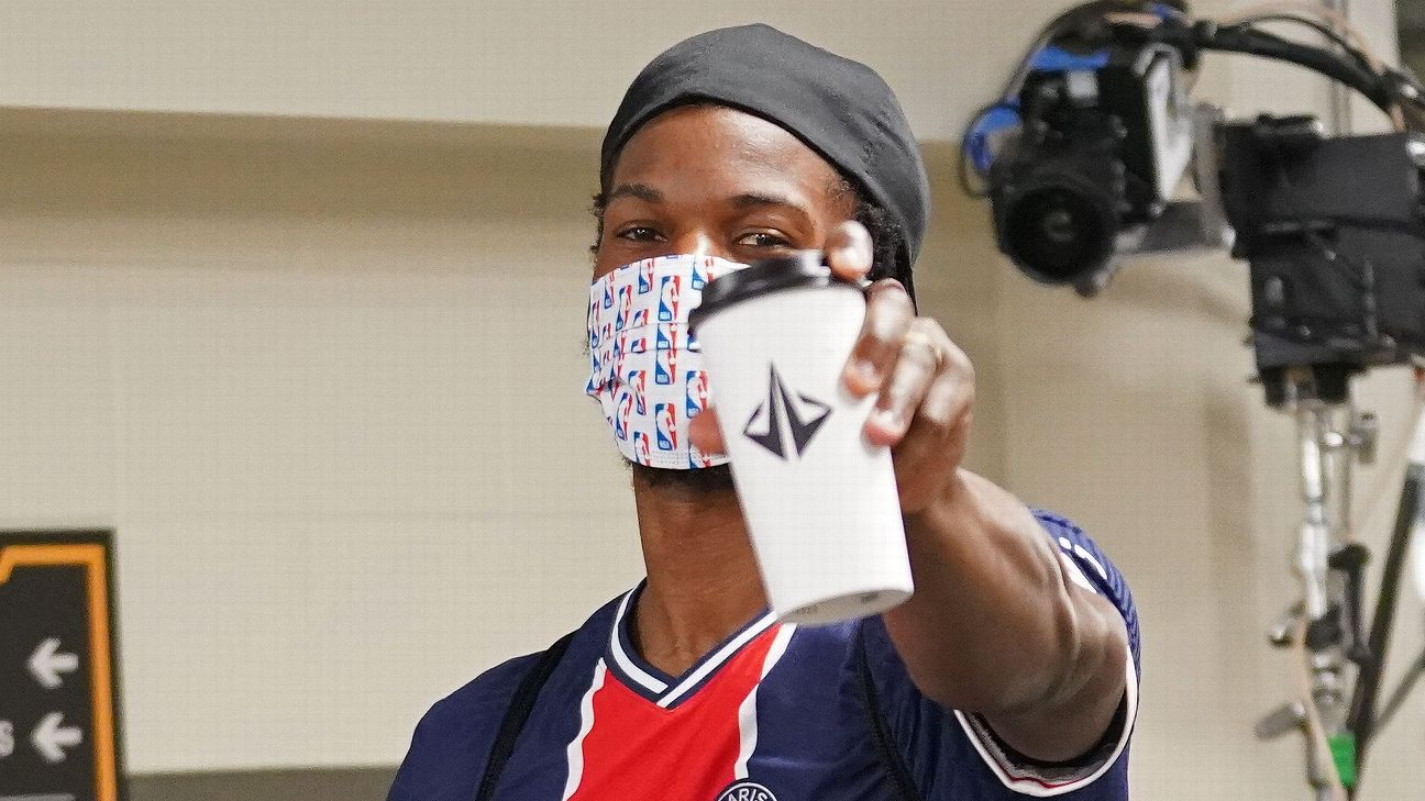 Jimmy Butler and the Heat are caught in a barista battle in the NBA bubble
