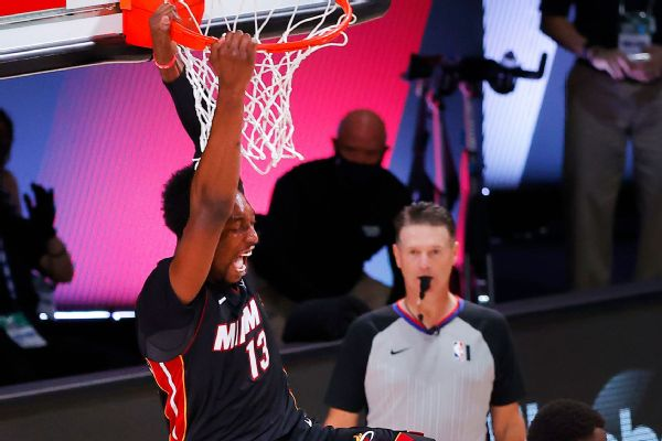 Adebayo redeemed as Heat advance to Finals