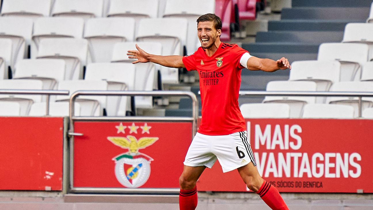 Man City agree €68m deal for Benfica's Dias